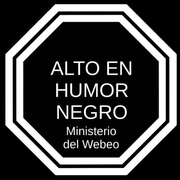 Alto en humor negro