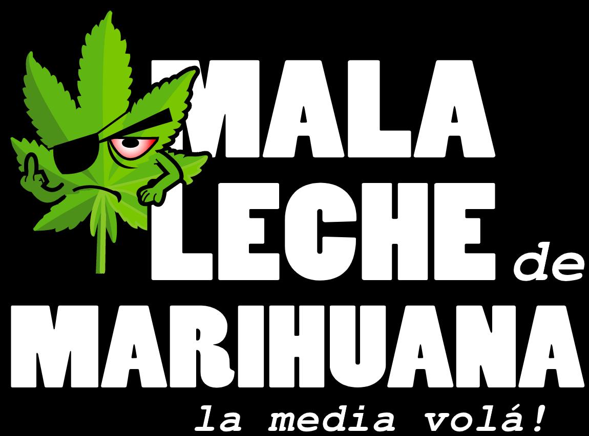 Logo Mala Leche De Marihuana