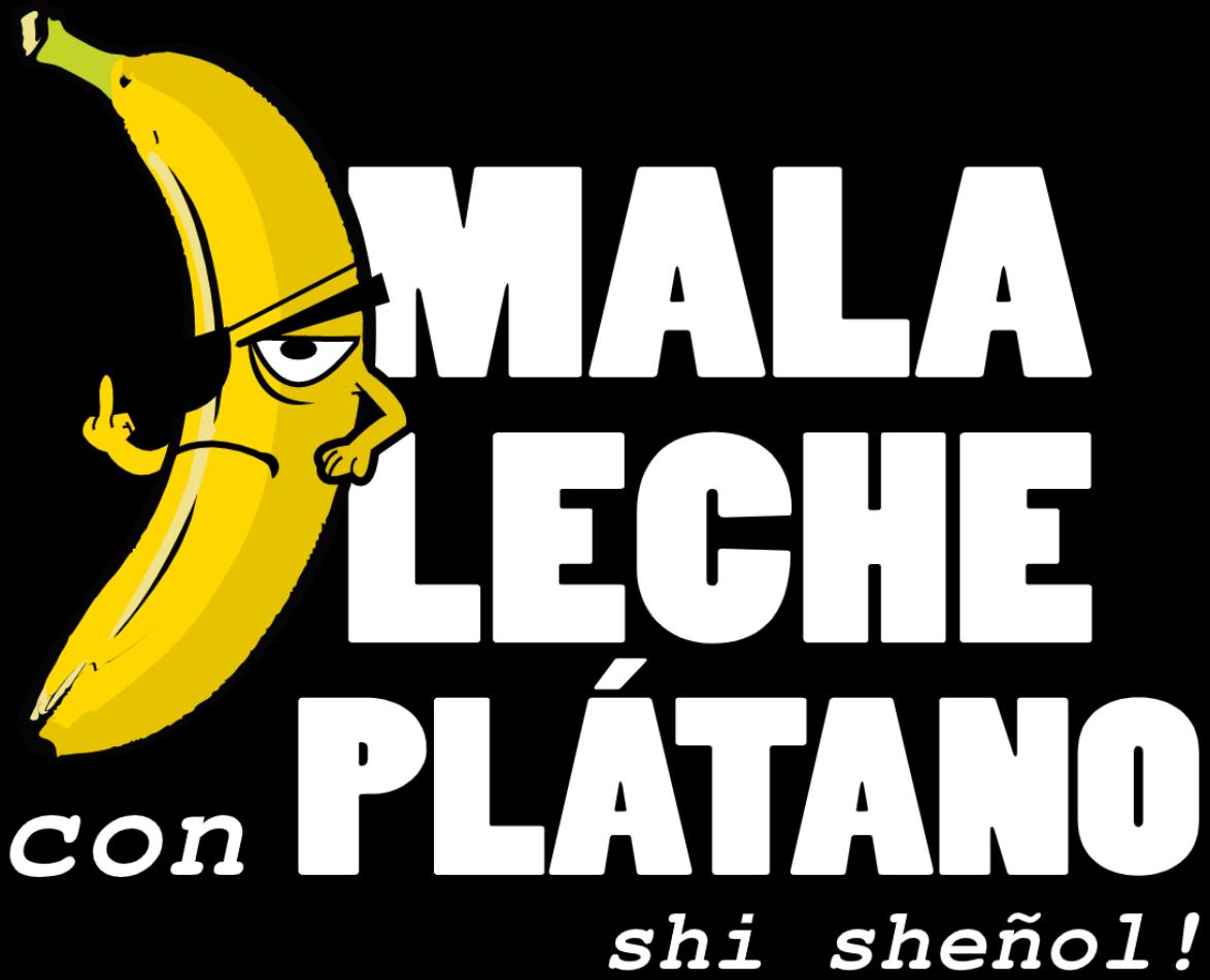 Mala Leche Logo Platano
