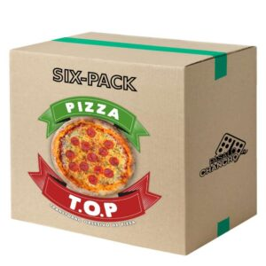 Six-Pack Pizza Top